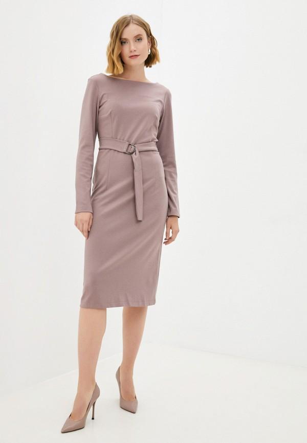 женское повседневные платье baon, коричневое