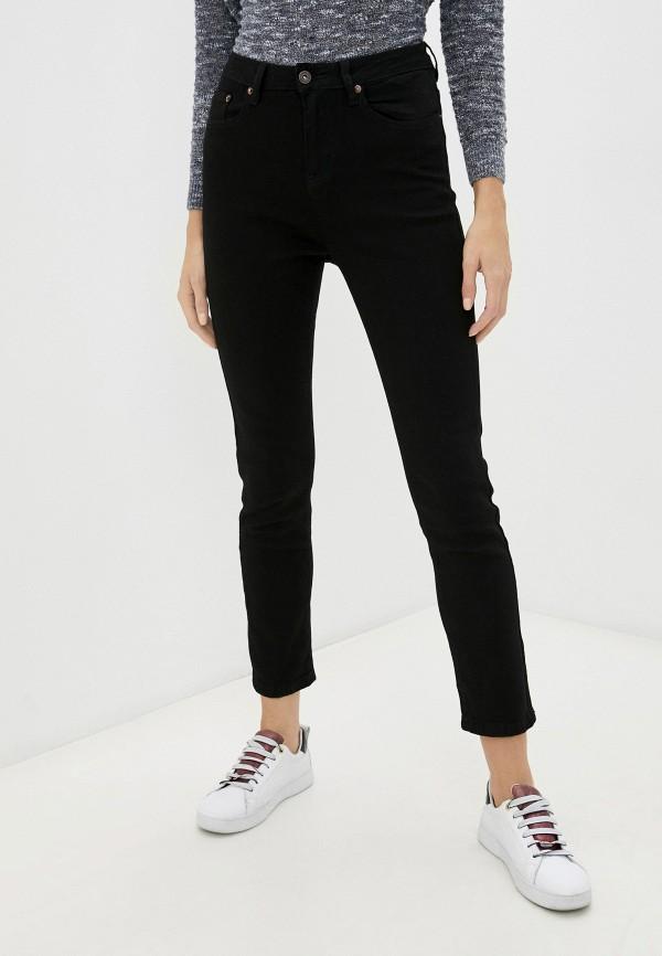 женские джинсы скинни savage, черные