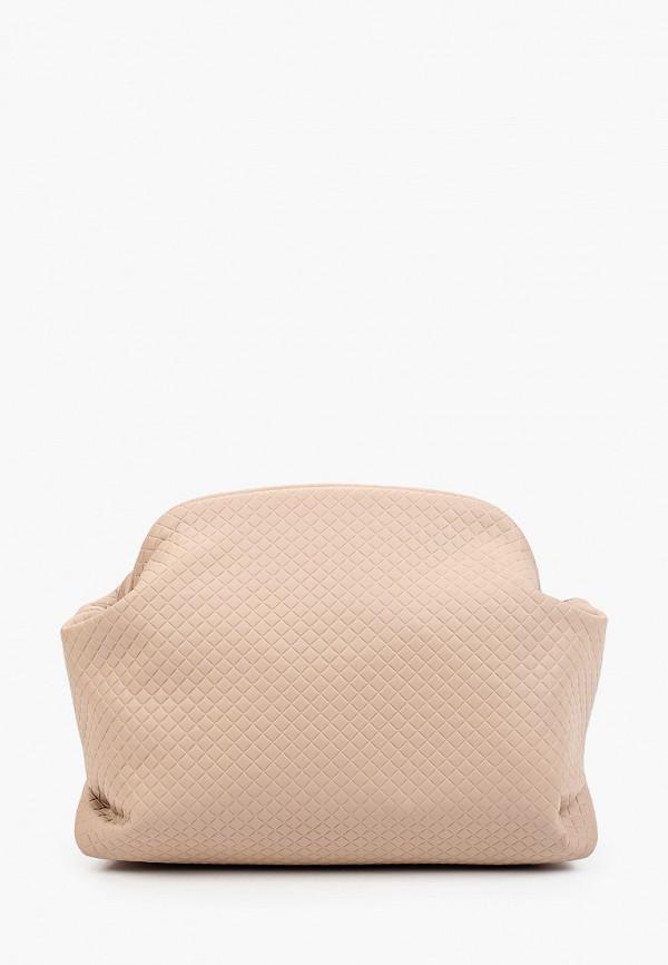 женская сумка через плечо vitacci, бежевая