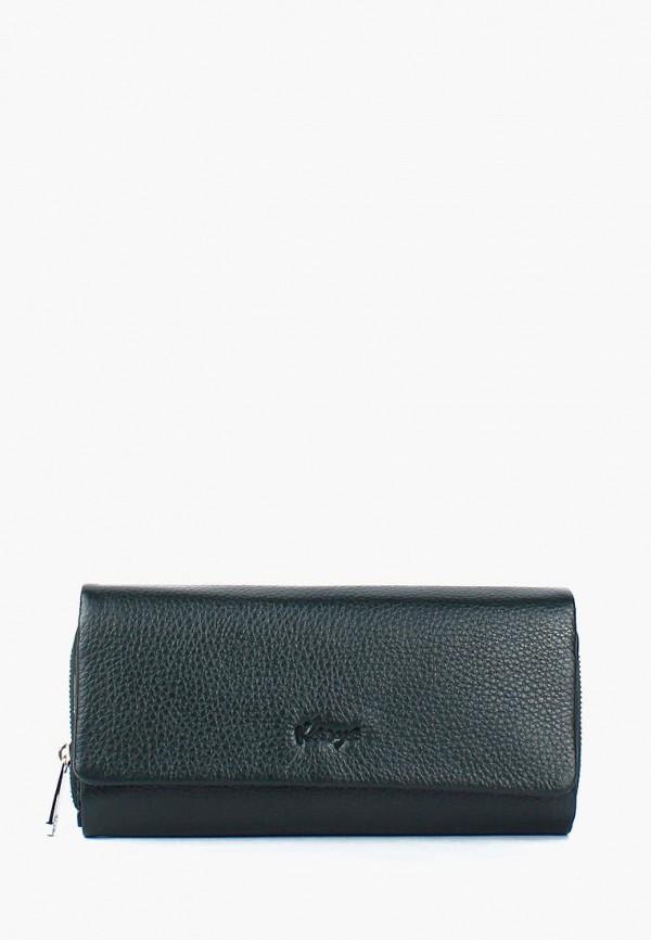 женский кошелёк karya, зеленый