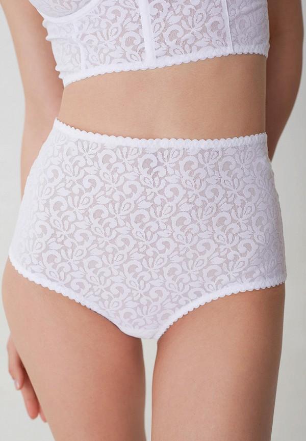женские трусы-шорты trofme underwear, белые