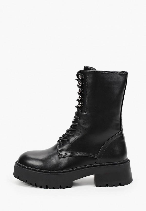 женские высокие ботинки may vian, серые