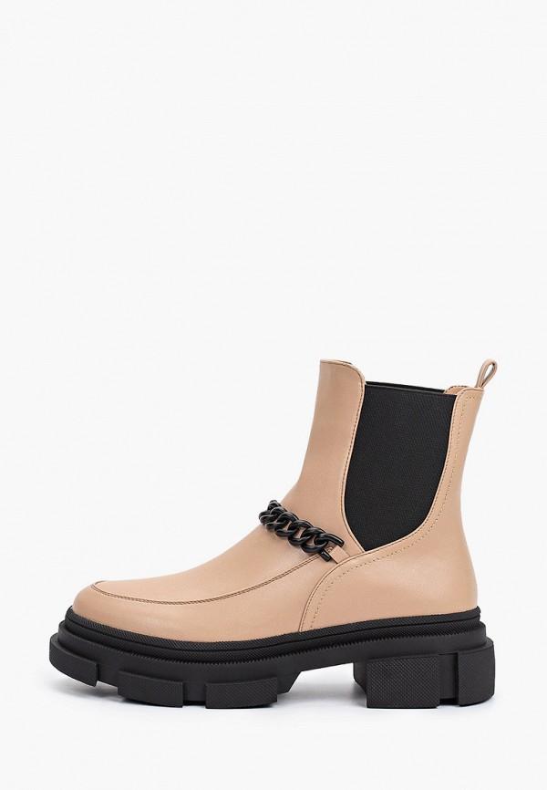 женские ботинки-челси vivian royal, коричневые