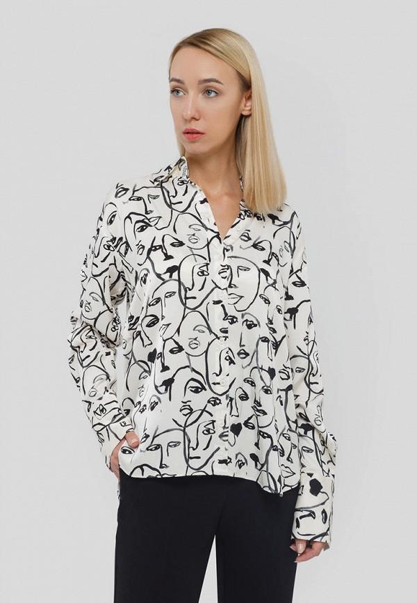 женская блузка с длинным рукавом inwear, белая