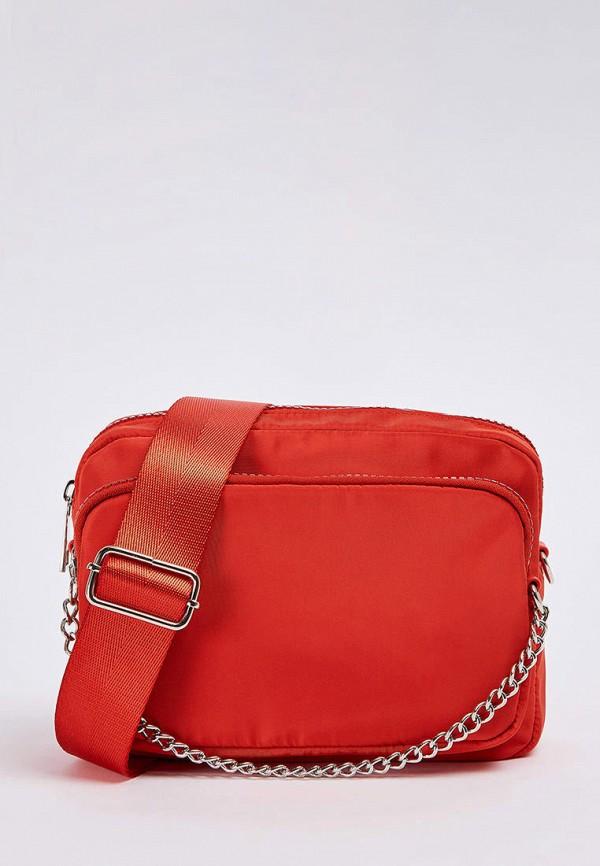 женская сумка terranova, оранжевая