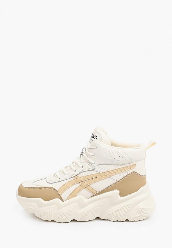 женские низкие кроссовки v.i.konty, белые