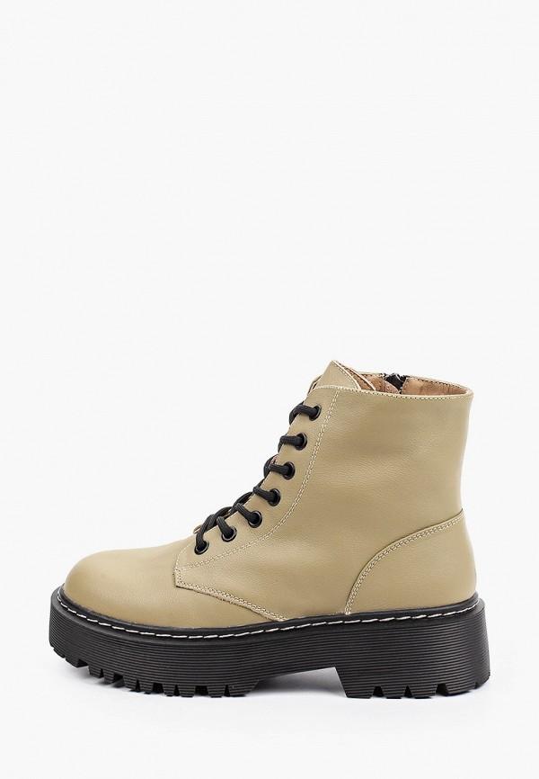 женские высокие ботинки berkonty, хаки