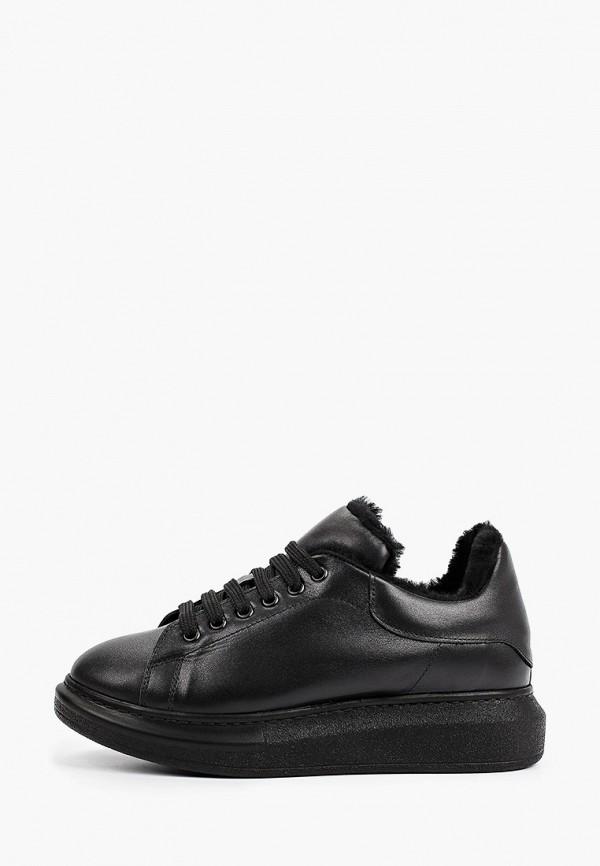 женские низкие кроссовки pazolini, черные
