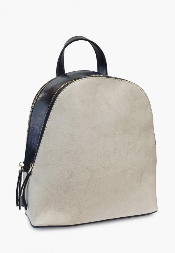 женский рюкзак royalbag, бежевый