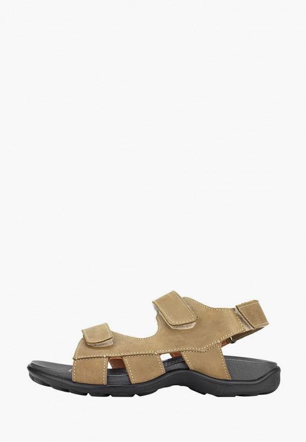 женские сандалии cliford, коричневые