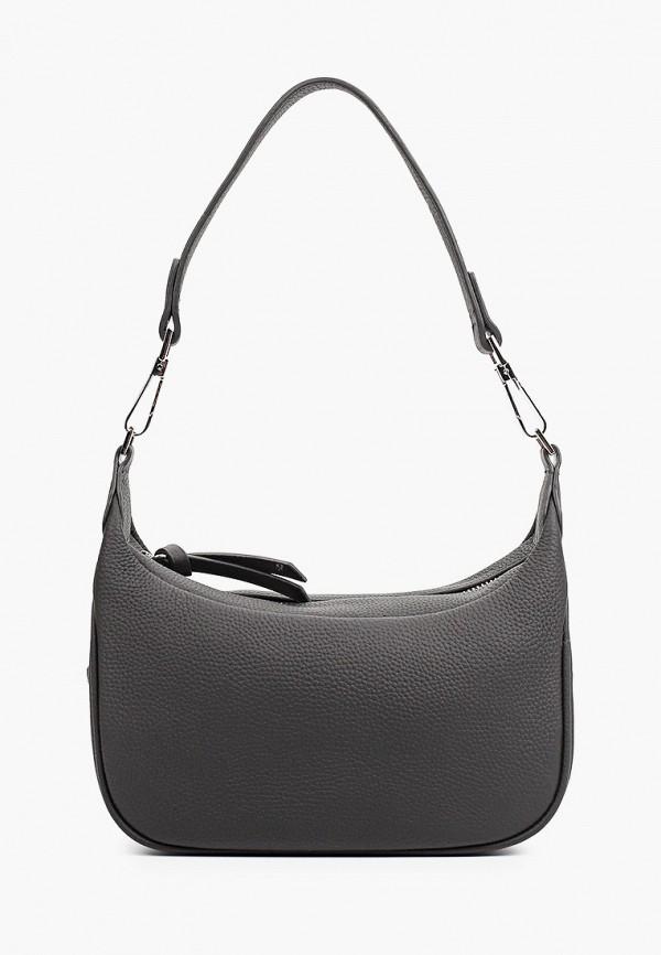 женская сумка с ручками bocciolo, черная