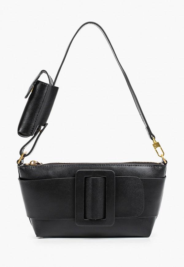 женский кошелёк с ручками bocciolo, черный