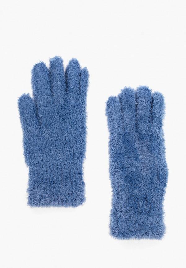 женские текстильные перчатки befree, синие