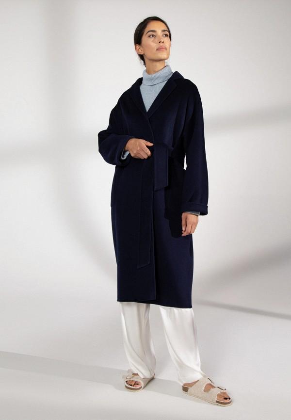 женское пальто 12storeez, синее