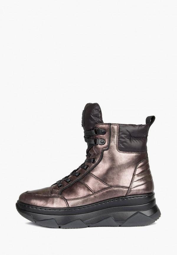 женские высокие ботинки tj collection, коричневые