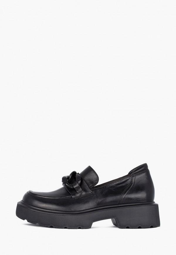 женские туфли с закрытым носом tj collection, черные