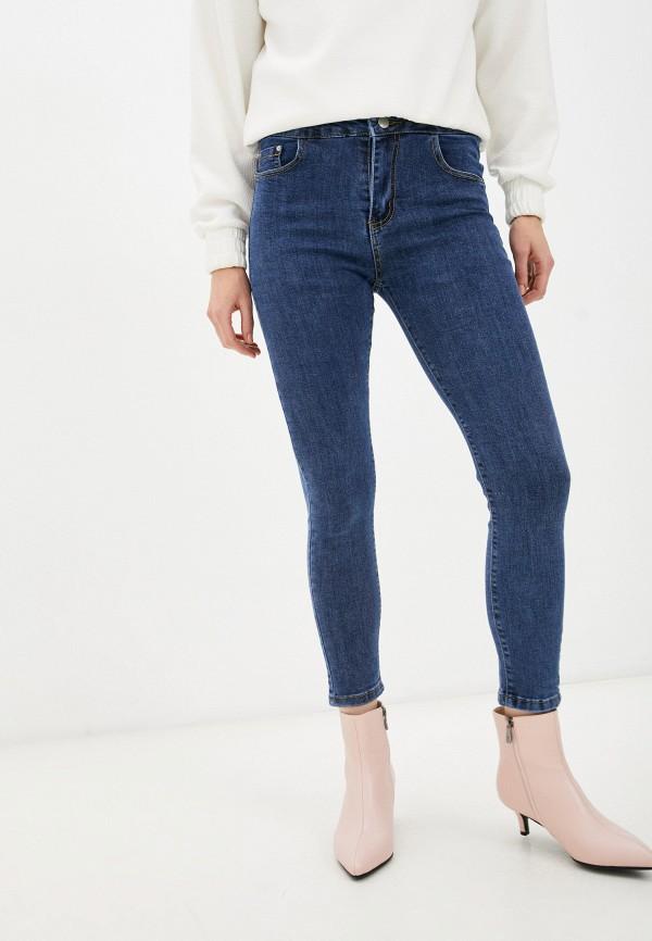 женские джинсы скинни forza viva, синие