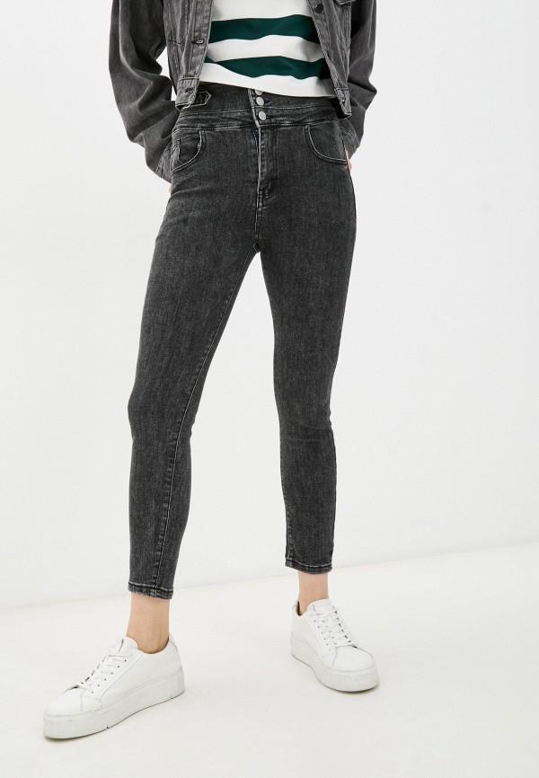 женские джинсы скинни forza viva, черные