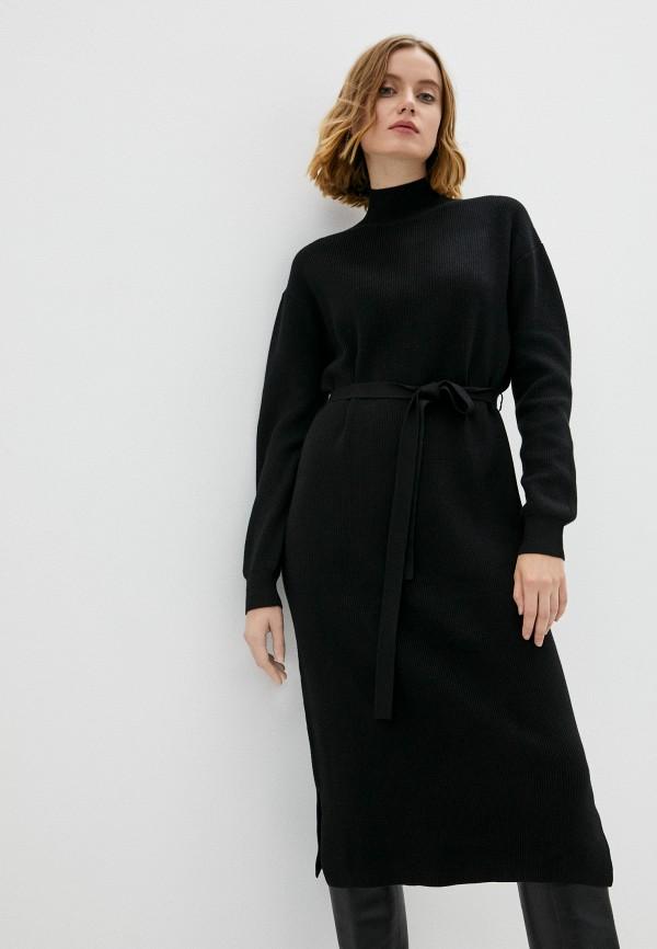 женское платье-свитеры baon, черное