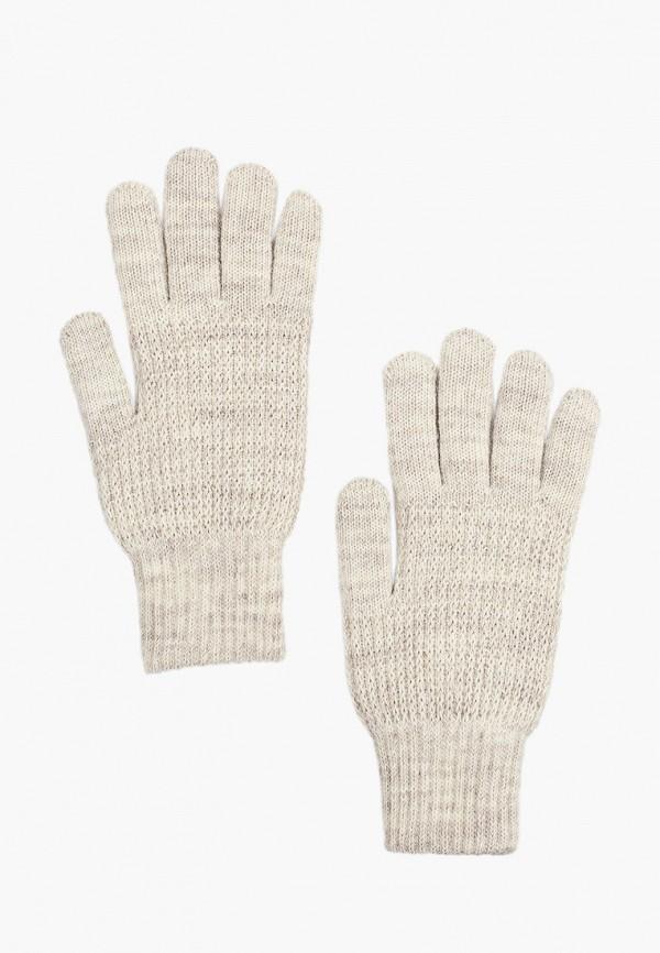 женские текстильные перчатки baon, бежевые