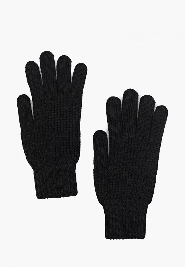 женские текстильные перчатки baon, черные