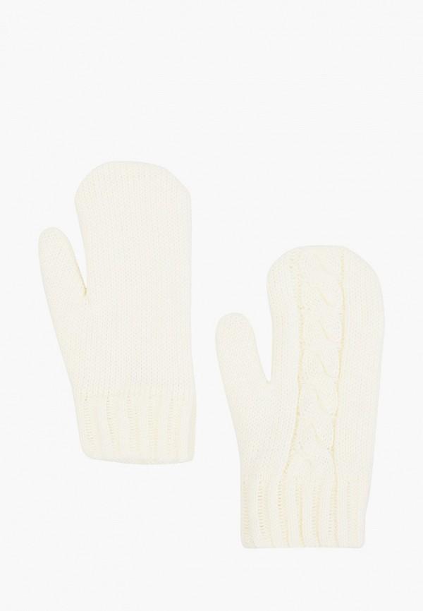 женские варежки baon, белые