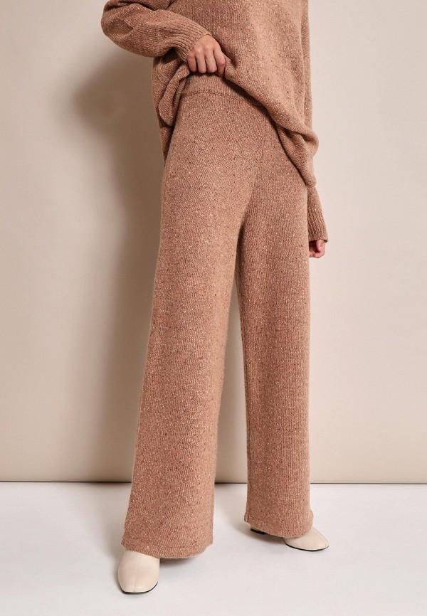 женские повседневные брюки 12storeez, коричневые