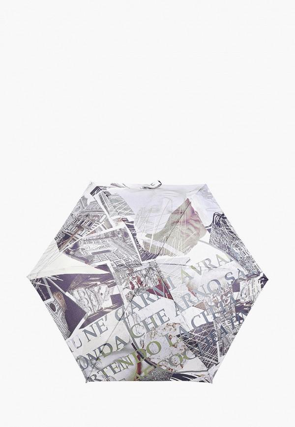 женский складные зонт eleganzza, бежевый