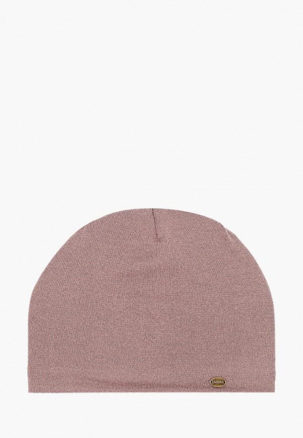 женская шапка labbra, коричневая