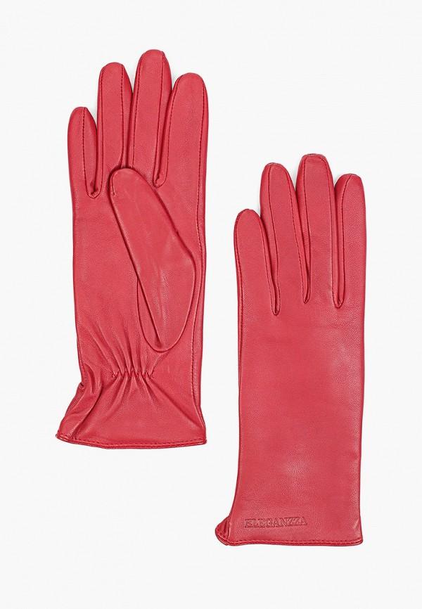 женские кожаные перчатки eleganzza, бордовые