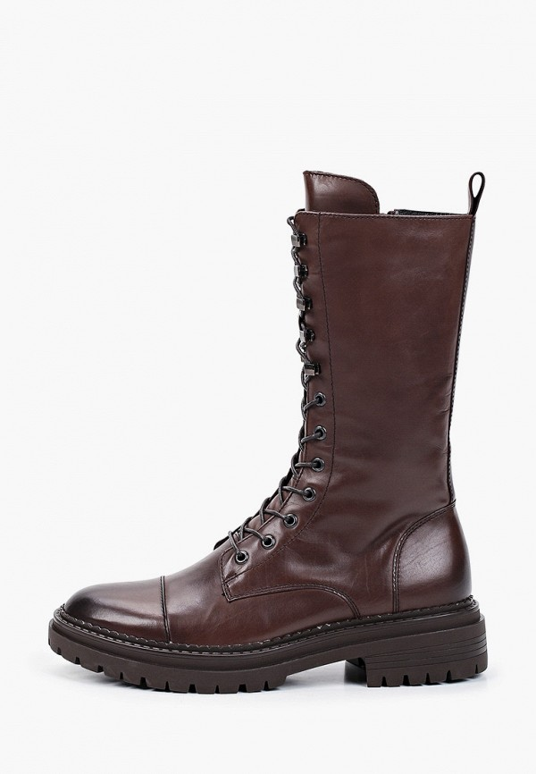 женские высокие ботинки mascotte, коричневые