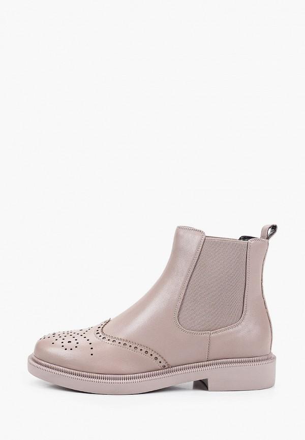 женские ботинки-челси mascotte, бежевые