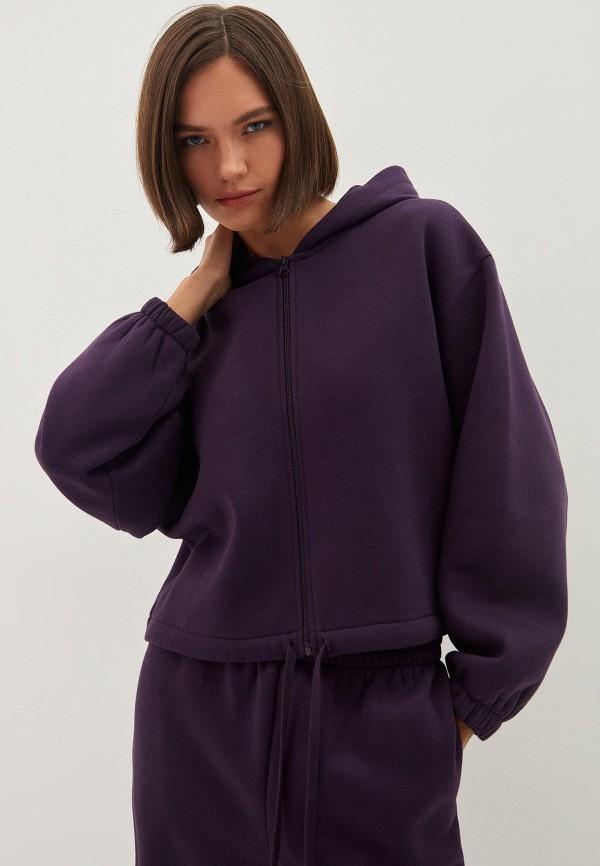 женская толстовка zarina, фиолетовая