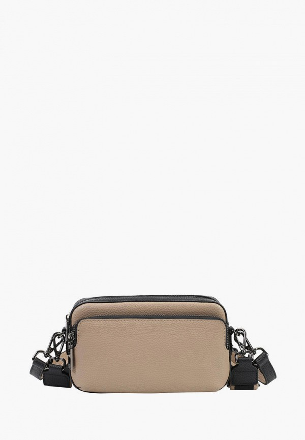 женская сумка через плечо ekonika, бежевая