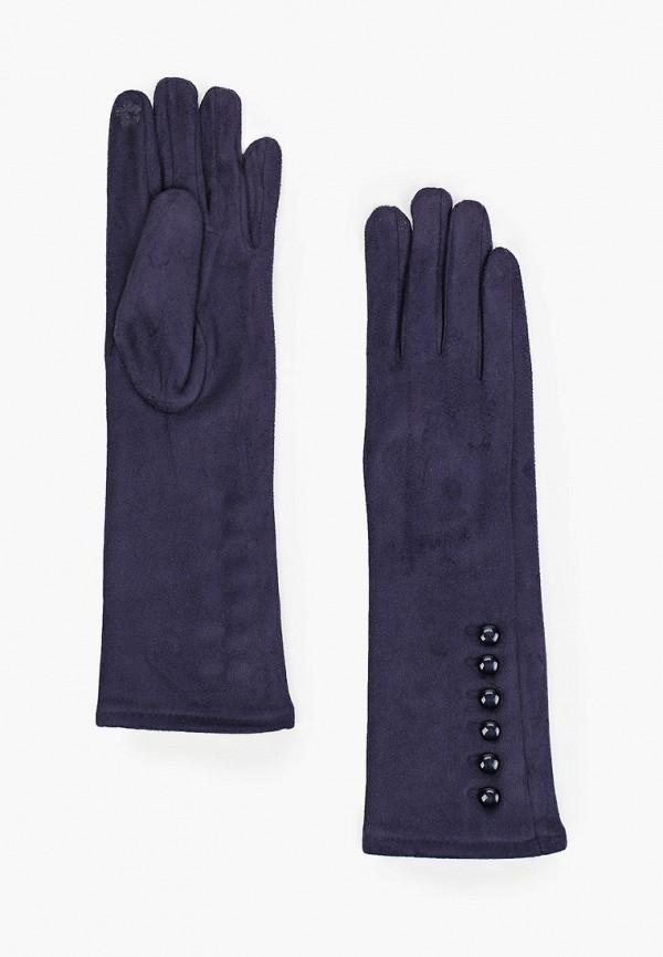 женские текстильные перчатки mon mua, синие