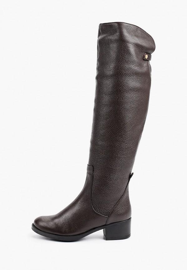 женские ботфорты dino ricci, коричневые