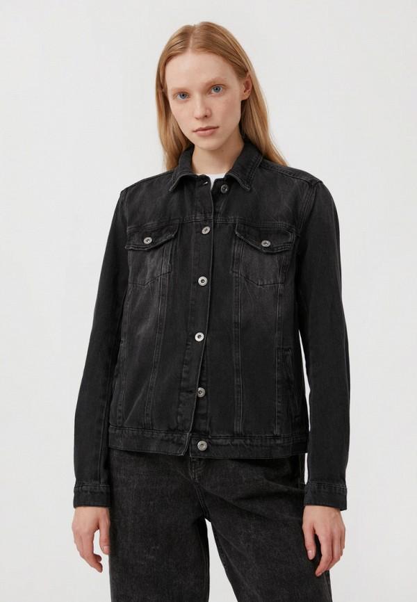 Куртка джинсовая Finn Flare черного цвета