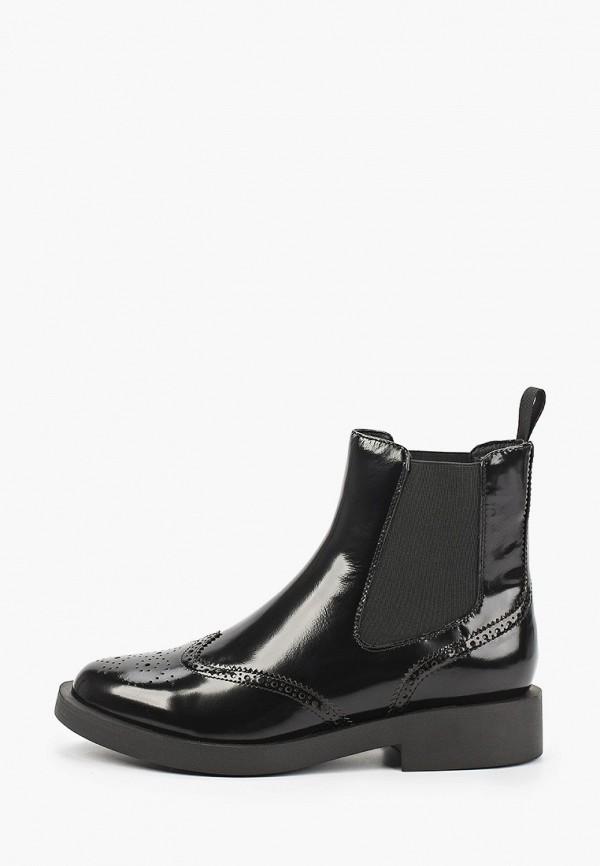 женские высокие ботинки salamander, черные