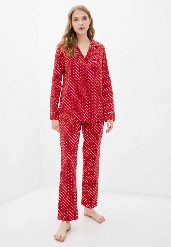 женская пижама hays, красная