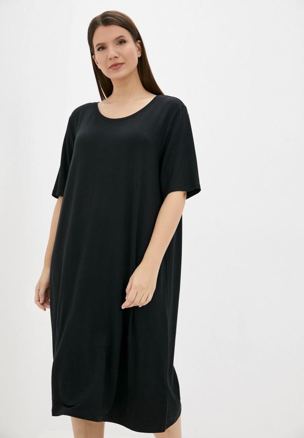 Платье домашнее Hays черного цвета