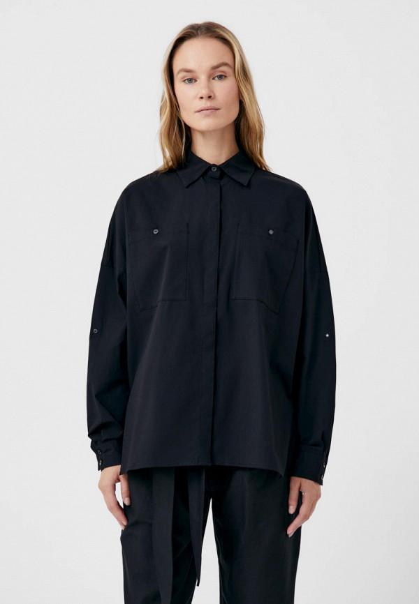 Рубашка Finn Flare черного цвета
