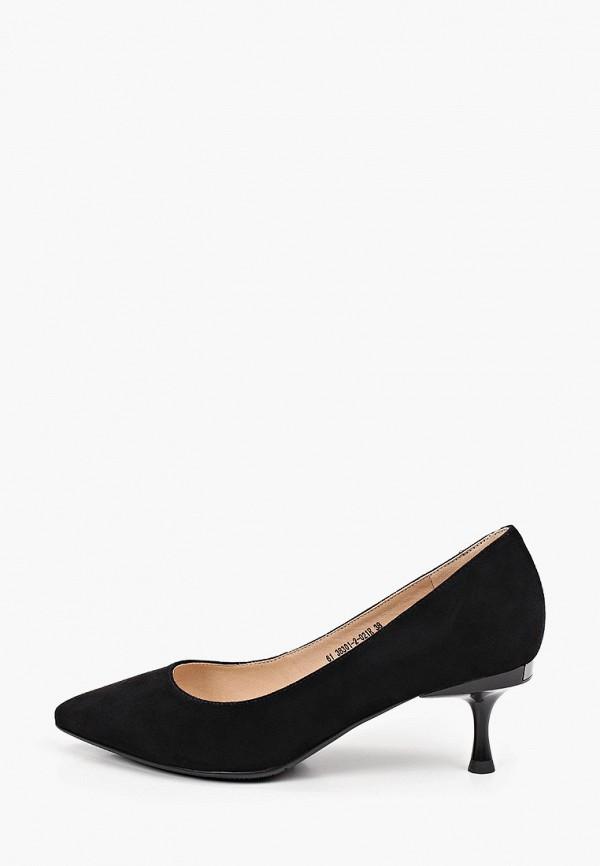 женские туфли-лодочки valley, черные