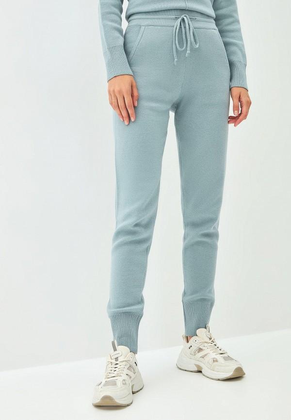 женские брюки джоггеры zarina, бирюзовые