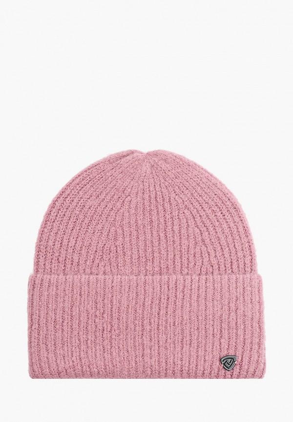 женская шапка northland, розовая