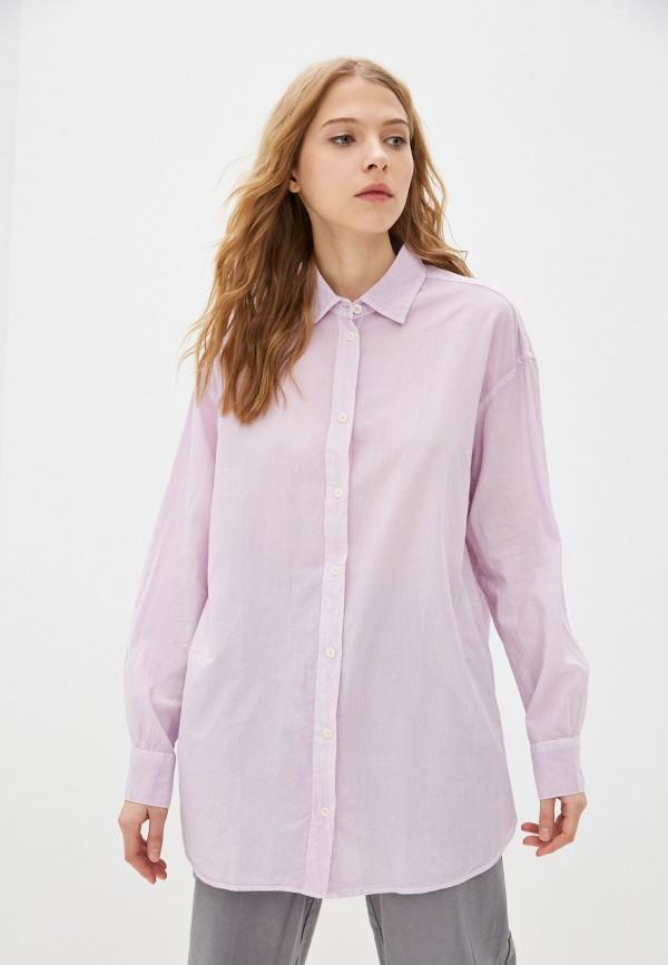 Рубашка Mavi фиолетового цвета