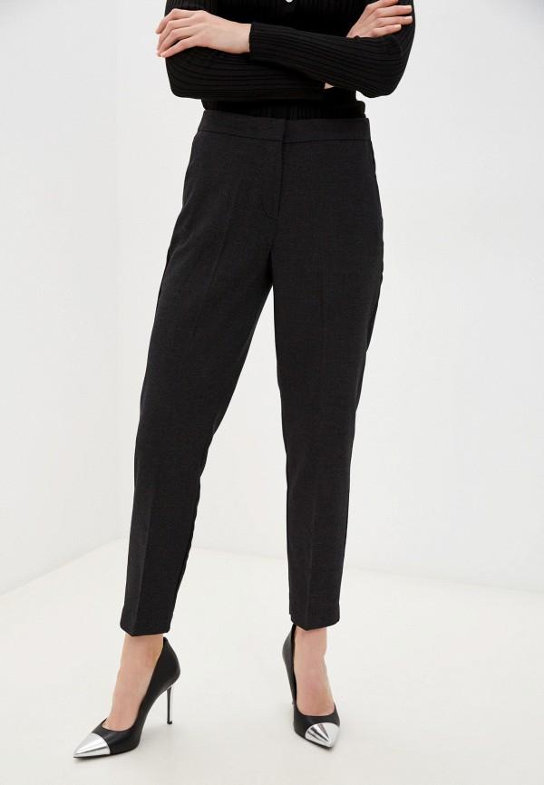 женские классические брюки zolla, серые