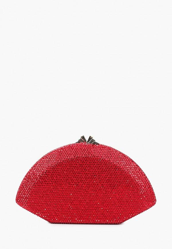 женский клатч vitacci, красный