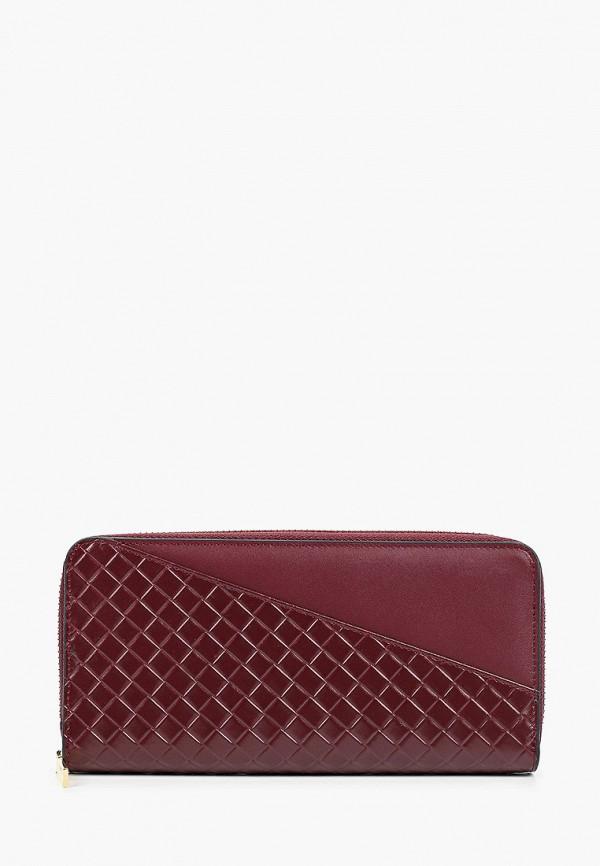 женский кошелёк vitacci, бордовый