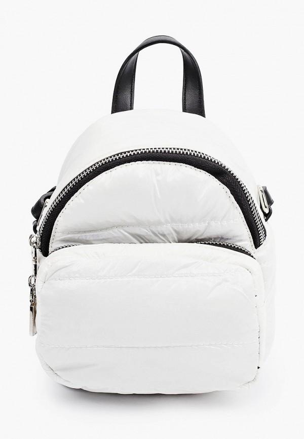 женская сумка с ручками vitacci, белая