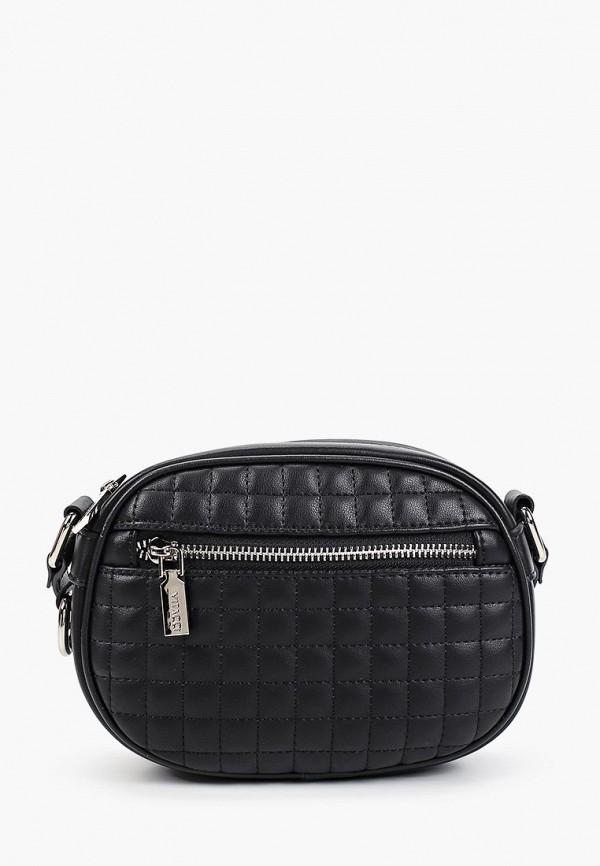 женская сумка через плечо vitacci, черная